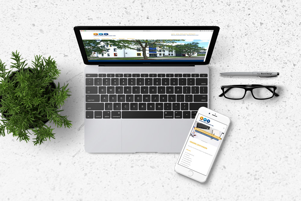 Für BWS, Steuerberatung mbH in Bexbach haben wir eine neue Online-Präsenz erschaffen. Die Website Entwicklung basiert auf dem Corporate Design der Firma.