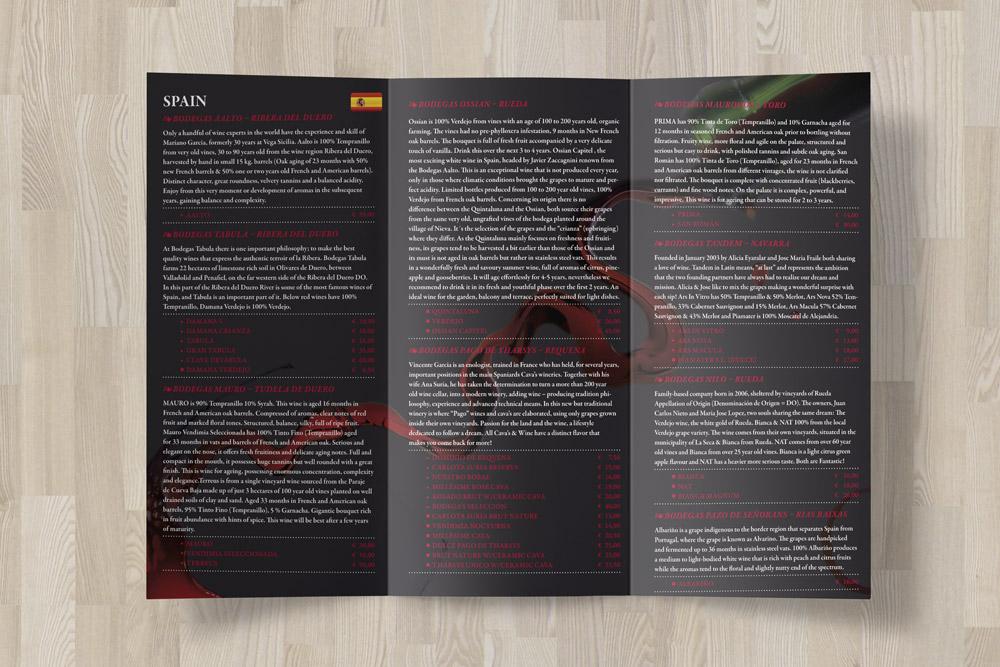 Auch Flyer wurden als Werbematerialien für MelovinVino von uns gestaltet.