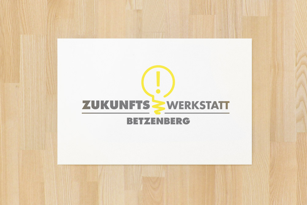Logogestaltung: Nachdem die Zukunftswerkstatt Betzenberg gegründet war, durfte ein Logo nicht lange auf sich warten lassen. Wir konnten mit unserer gestalterischen Fähigkeit unterstützen.