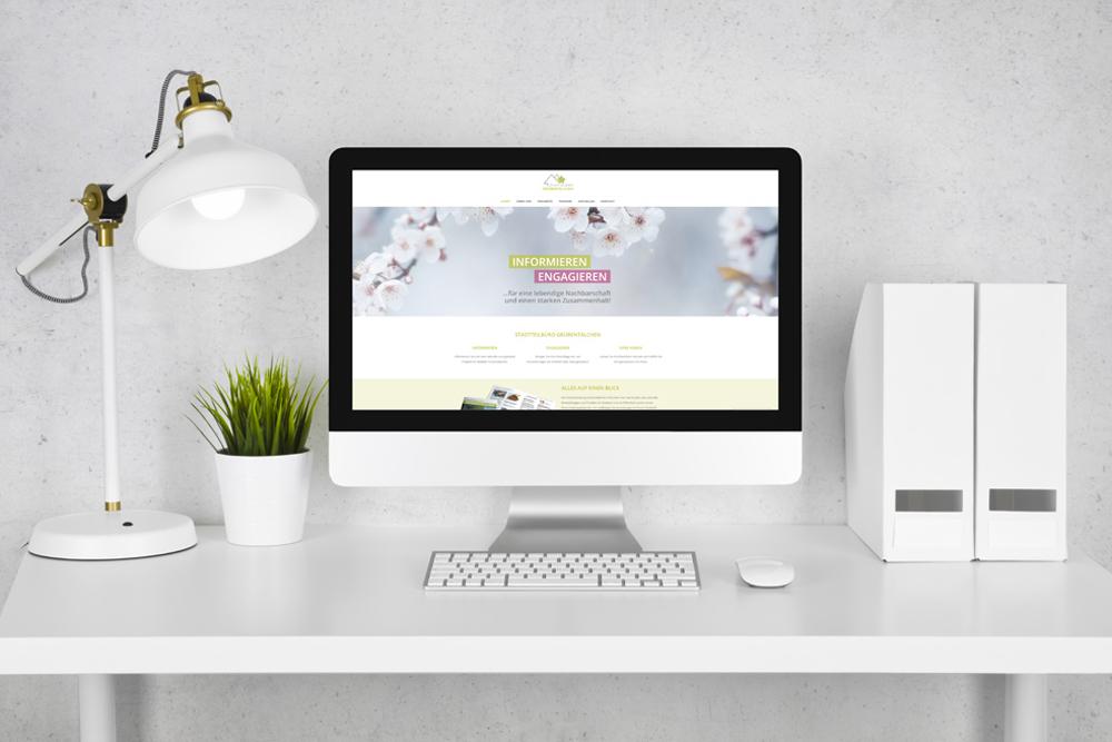 Die Website Entwicklung stand für das Stadtteilbüro Grübentälchen an erster Stelle, denn mit der eigenen Website können die Bürger im Stadtteil über alle Angebote und Termine informiert werden.
